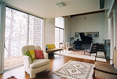 Cotuit Cotuit vacation rental - Living room with water view