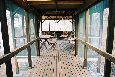 Cotuit Cotuit vacation rental - Screened-in porch with water view
