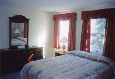Falmouth Cape Cod vacation rental - One of two similar Bedrooms