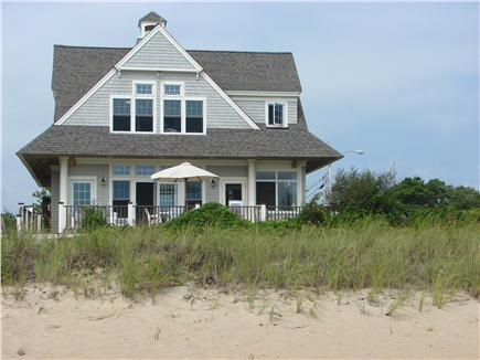 Popponesset Beach - Mashpee Cape Cod vacation rental - Toes in the sand, peek back at your gorgeous vacation home