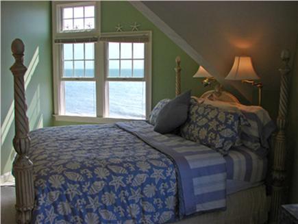 Popponesset Beach - Mashpee Cape Cod vacation rental - King Size Bedroom with magnificent ocean views & brrezes