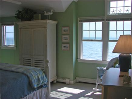 Popponesset Beach - Mashpee Cape Cod vacation rental - More ocean views for the couple in this king sized bedroom