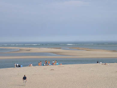 Chatham's Old Village Cape Cod vacation rental - Lighthouse Beach- 5 minute walk away.