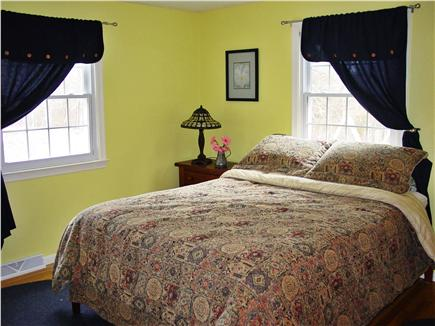 Chatham Cape Cod vacation rental - Bedroom with queen bed and private half bath