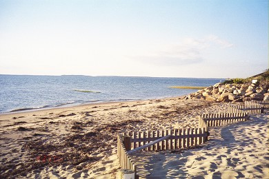 North Eastham Cape Cod vacation rental - One of two Private Beaches you have use of