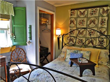 Dennisport Cape Cod vacation rental - Bright bedroom with bureau and closet