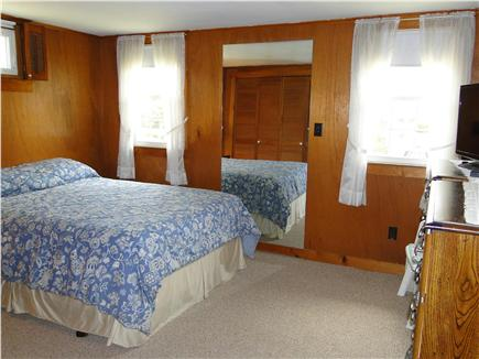 West Yarmouth crowell and seag Cape Cod vacation rental - Queen sized master with flat screen TV