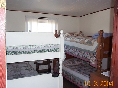 Fisher Beach, Truro, Cape Cod Cape Cod vacation rental - Bedroom #2 with 2 sets of Bunk Beds