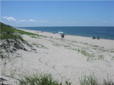 Fisher Beach, Truro, Cape Cod Cape Cod vacation rental - Beach looking South to Wellfleet
