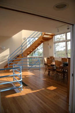 North Truro Cape Cod vacation rental - Great Room Dining Area with fabulous waterviews