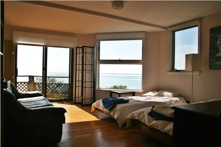 North Truro Cape Cod vacation rental - One of 7 bedrooms with dramatic water views
