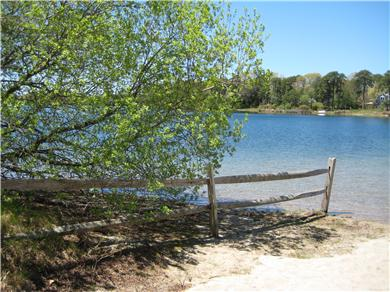Harwich Cape Cod vacation rental - Pond