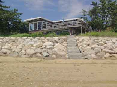 Chequessett Neck Wellfleet Cape Cod vacation rental - Eleven steps to your own private beach