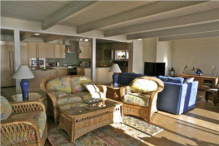 Chequessett Neck Wellfleet Cape Cod vacation rental - Spacious open plan design