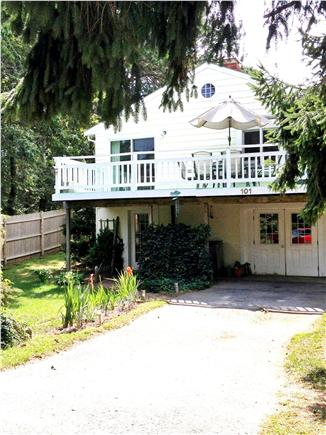 Wellfleet Cape Cod vacation rental - Front of the house with great deck for relaxing
