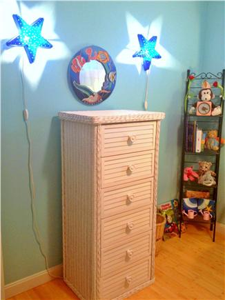 Wellfleet Cape Cod vacation rental - Fun dresser and toys in room with bunk beds