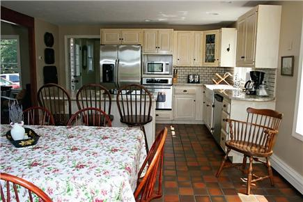 Harwichport Cape Cod vacation rental - Updated Kitchen with granite countertops and new appliances.