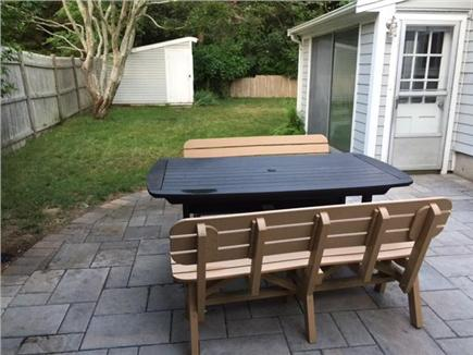 Falmouth Cape Cod vacation rental - You'll spend a lot of quiet time on our new patio.
