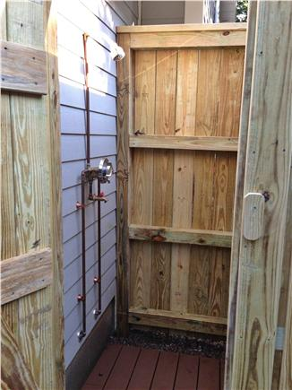Falmouth Cape Cod vacation rental - Outdoor Shower - you'll never want to shower inside again!