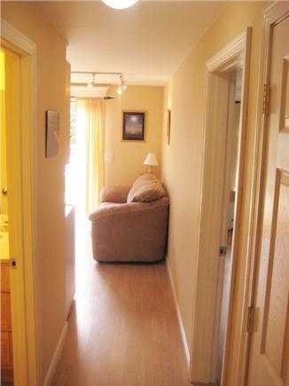 Chatham Cape Cod vacation rental - Hallway Bath/Bedroom entranceway