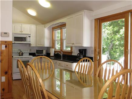 Kingston MA vacation rental - This table is never ditching food from this kitchen!!!