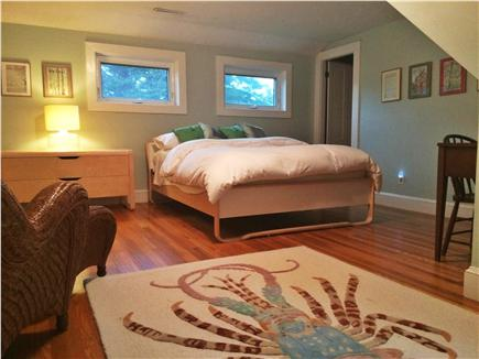 Brewster Cape Cod vacation rental - The 2nd queen with a full bath between the two.
