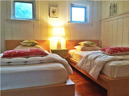 Brewster Cape Cod vacation rental - Down the hall beyond another sitting room is the 1st twin,