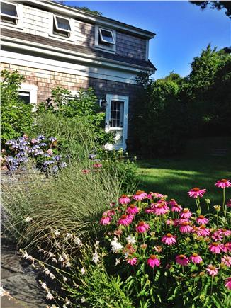 Brewster Cape Cod vacation rental - The rolling green lawn extends on both sides of the house.