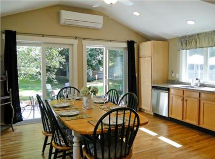 Chatham Cape Cod vacation rental - Lovely dining room adjacent to slider out to deck