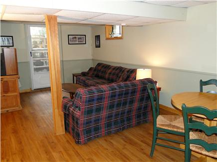 Chatham Cape Cod vacation rental - Lower level rec room with TV