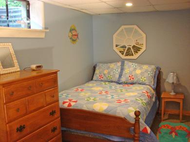 Chatham Cape Cod vacation rental - Lower level bedroom, adjacent to bathroom