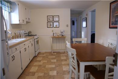 West Dennis Cape Cod vacation rental - Eat-in Kitchen