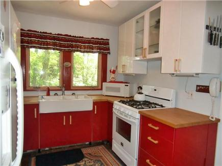 9 Pond Road, Orleans Cape Cod vacation rental - Kitchen Showing Stove and Sink