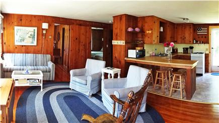 Chatham Cape Cod vacation rental - Living Room and Kitchen