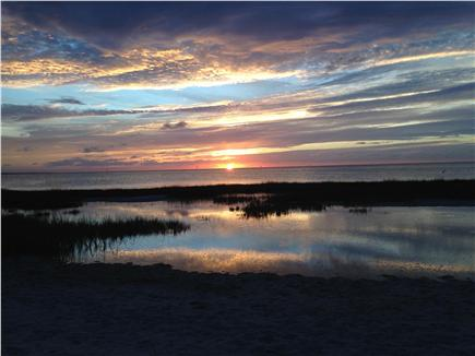 Eastham Cape Cod vacation rental - Enjoy the magnificent sunsets along the bay beaches