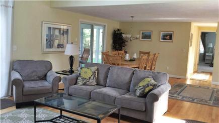 Eastham Cape Cod vacation rental - Living room & kitchen view