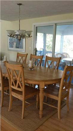 Eastham Cape Cod vacation rental - Kitchen to outoor screened in porch