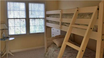 Eastham Cape Cod vacation rental - Upstairs bedroom #1 with two twin beds bunk beds