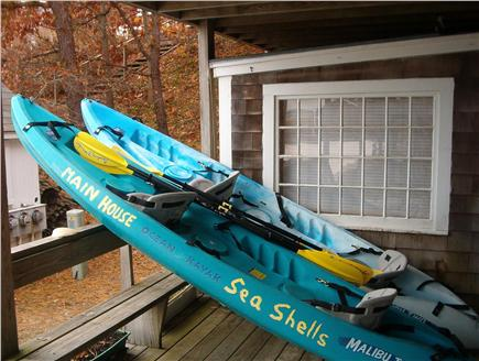Wellfleet Cape Cod vacation rental - Our sit-on-top Kayaks are great for beginners.