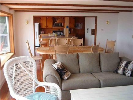 Wellfleet Cape Cod vacation rental - Open layout. Living and dining area on the 2nd floor.