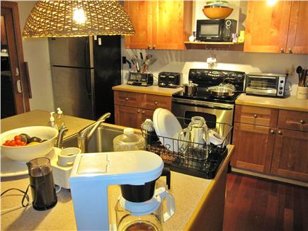 Wellfleet Cape Cod vacation rental - Fully equipped kitchen, full sized appliances. 2 Refrigerators.