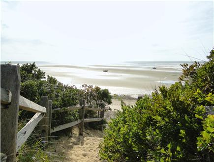 Eastham Cape Cod vacation rental - Walk down the private association road to the beach entrance