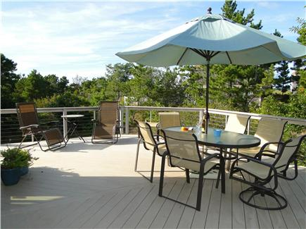 Eastham Cape Cod vacation rental - Great Deck Living---you will spend most of your time here!