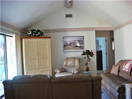 New Seabury, Mashpee New Seabury vacation rental - Comfortable Open Living  (leather reclyners)