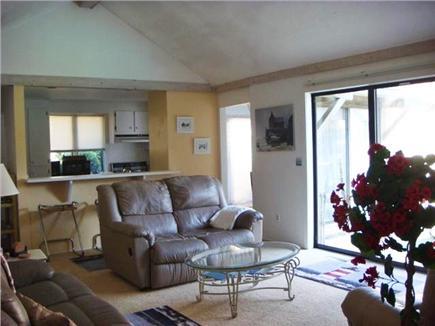 New Seabury, Mashpee New Seabury vacation rental - Open Living Area looking into kitchen with breakfast bar