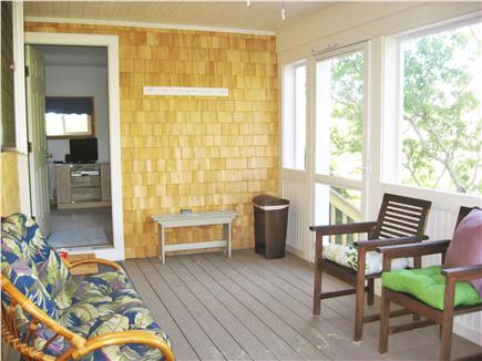 Eastham Cape Cod vacation rental - Enjoy cool breezes from the new screened in porch adjacent to den