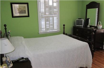 South Yarmouth Cape Cod vacation rental - First floor bedroom with double bed, AC unit, cable TV