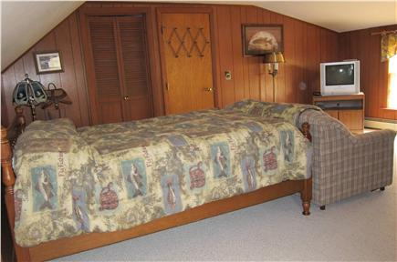 South Yarmouth Cape Cod vacation rental - 2nd floor bedroom w/double bed , sofa bed, AC unit& cable TV/DVD