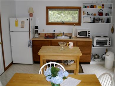 Truro Cape Cod vacation rental - Kitchen area