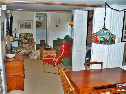 Dennis Cape Cod vacation rental - FR: queen sofabed; 42'' TV, full bath, front load washer/dryer